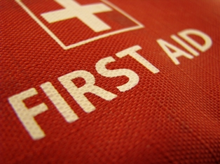 First aid kit logo