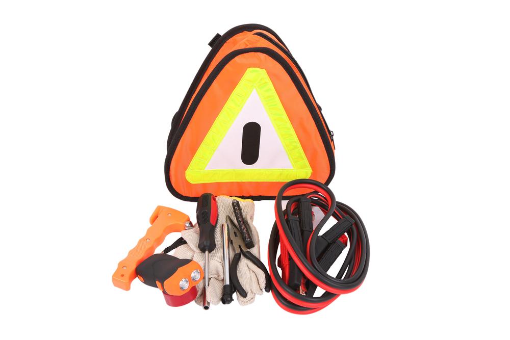 Car safety kit items