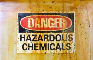 Hazardous Chemicals Warning