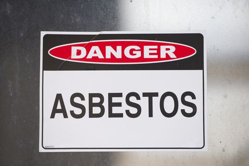Danger: Asbestos Sign