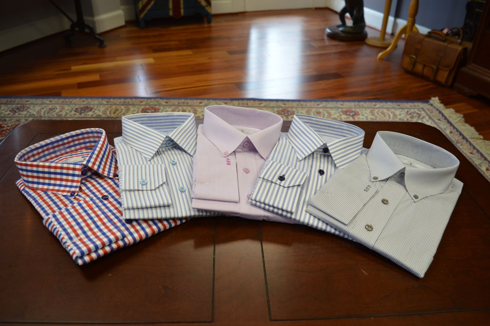 Custom shirts from WT Clothiers