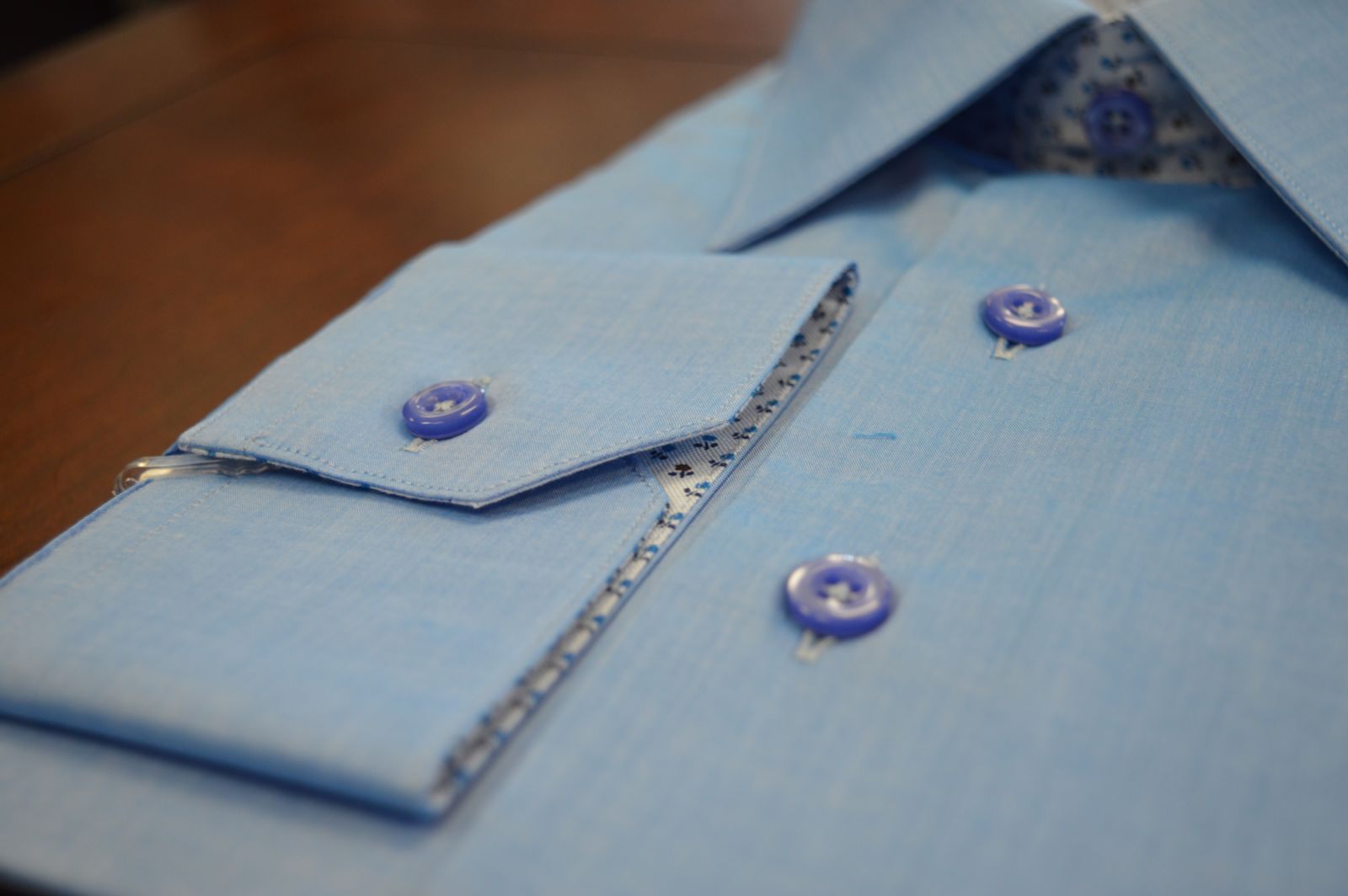 Personalize every detail of your custom shirt.