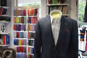 A wide variety of custom suits are available from WT Clothiers.