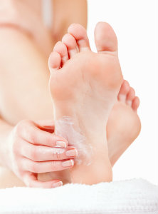 Treating dry feet