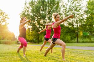 Doing Yoga Strengthens Ankles