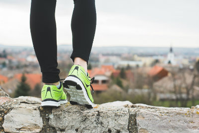 Choosing the right athletic shoes is important if you're active.