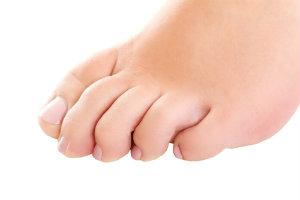 Bending toes